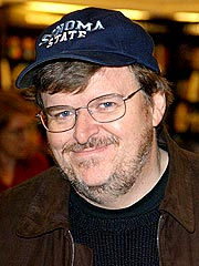 Michael Moore Voted 'Coldest' Celeb