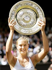Wimbledon Winners: , Sharapova, NBC