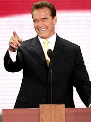 Schwarzenegger Wins Over GOP Convention