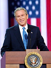 Bush Vows to 'Confront Threats to America'