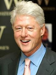 Bill Clinton Recuperating at Home
