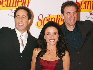 Seinfeld Stars Reunite in New York