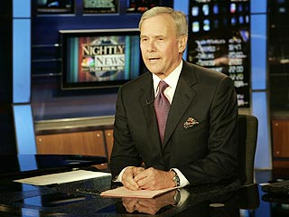Brokaw Bids Goodbye in Final Broadcast