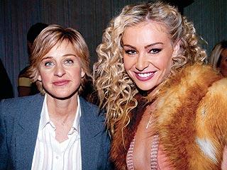 Ellen's New Squeeze: Portia de Rossi