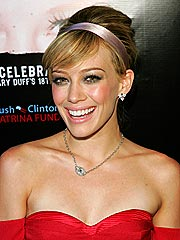 Hilary Duff's Birthday in Bed