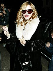 Madonna Parties Big, Diddy-Style