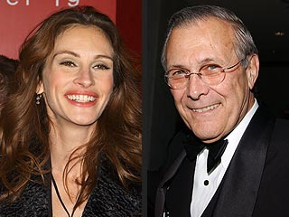 Julia Roberts Buys Donald Rumsfeld's Land