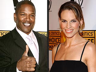 Jamie Foxx, Hilary Swank Win Pre-Oscar SAG Awards