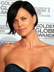 Charlize Theron Steps Up to Oscar Plate