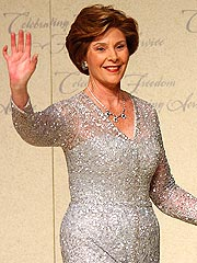 Laura Bush Shows Off New Look