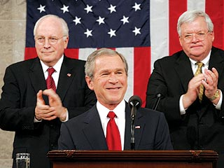 Bush Pushes Big Change in State of Union
