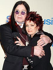 Ozzy and Sharon Flee From House Fire