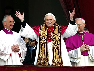 Germany&#39;s Ratzinger Named Pope