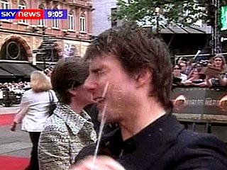 Pranksters Soak Tom Cruise in London