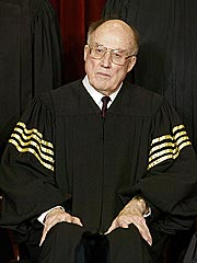 Chief Justice Rehnquist Hospitalized