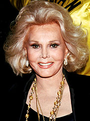 Zsa Zsa Gabor Home After Hospital Stay
