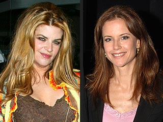 Kirstie Alley, Kelly Preston's Anti-Drug Push