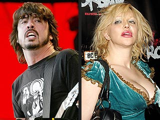 Love vs. Grohl Grudge Match Continues
