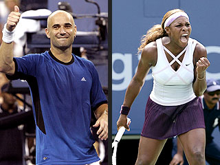 Agassi, Serena: U.S. Open Crowd Pleasers