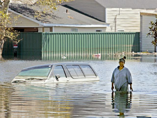 Holdouts Remain in Flooded Areas