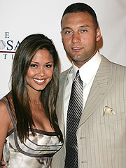 Derek Jeter with his girlfriend Vanessa Minnillo Derek Jeter Current Girlfriend