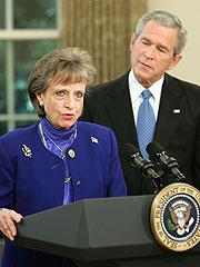 Bush Nominates Harriet Miers to Supreme Court