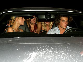 Paris Hilton and Boyfriend in Car Crash