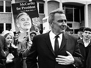 '68 Presidential Hopeful McCarthy Dies