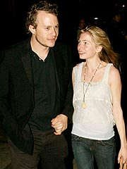 Heath Ledger and Michelle Williams Split