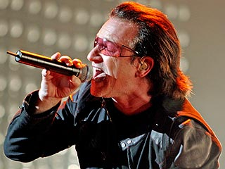 Bono, Elton John Fight Hunger, Hurricanes