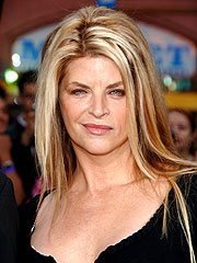Kirstie Alley, on nearly experiencing a wardrobe malfunction before ...