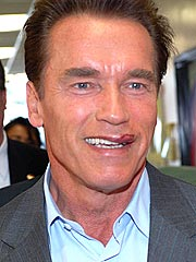 Schwarzenegger in Motorcycle Accident