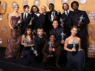 Lost, Crash Casts Take Top SAG Honors