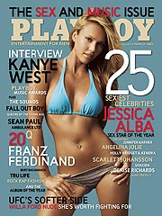 Jessica Alba Angry Over Playboy Cover