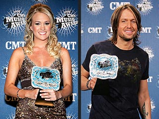 Underwood, Urban Win Big at CMTs