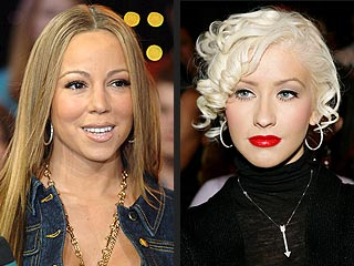 Christina Aguilera, Mariah Carey Trade Barbs