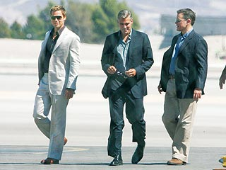 Brad Pitt: Back to Work on Ocean's Thirteen