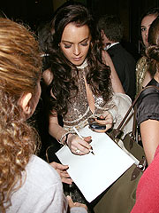 Lindsay Lohan Gets Served in Beverly Hills
