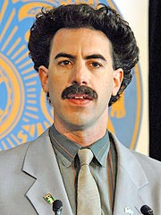 Borat Star Says Criticism Is &#39;Bizarre&#39;
