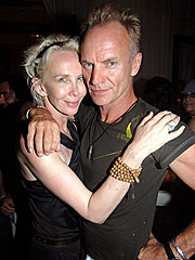 Sting's Wife Defends Rainforest Charity