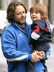 Russell Crowe: No Contact Sports for My Son Just Yet