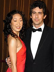 Sandra Oh couple
