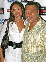 Laurence Fishburne, Gina Torres Expecting
