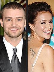 Justin Timberlake 'Courts' Alyssa Milano, Eva Longoria