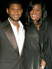 Usher's Fiancée Shoots Down Rumors