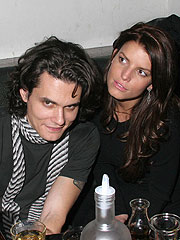 John Mayer and Jessica Simpson Show Their Affection