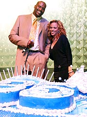 Shaquille O&#39;Neal Celebrates 35th Birthday in Style