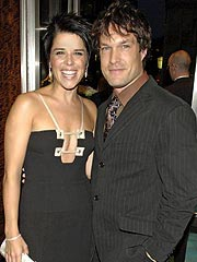 Neve Campbell & John Light Marry in Malibu