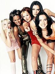 Bra Power! Spice Girls Selling New Album at Victoria's Secret