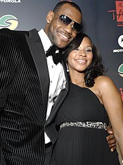 NBA Star LeBron James Welcomes a Son
